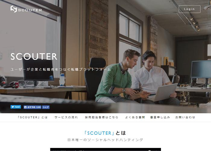 SCOUTER 【サービス終了】の画像