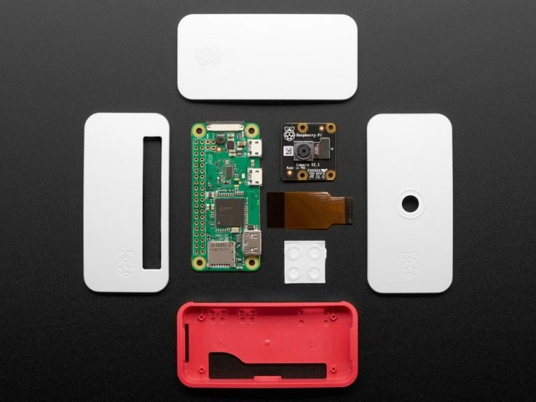 Raspberry Pi Zero W Camera Pack