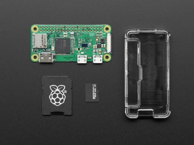 Raspberry Pi Zero W Basic Pack