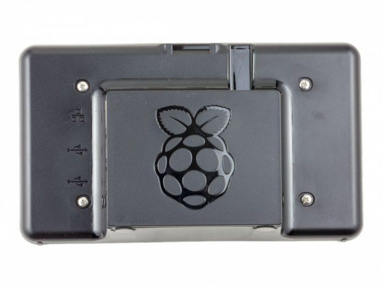 Raspberry Pi 7 inch Touchscreen Display Case(Black)