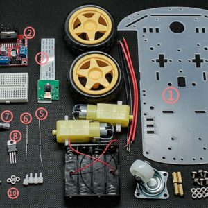 Raspberry Pi Follower Car Starter Kit