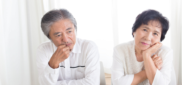 熟年離婚をする前に考えるべきこと