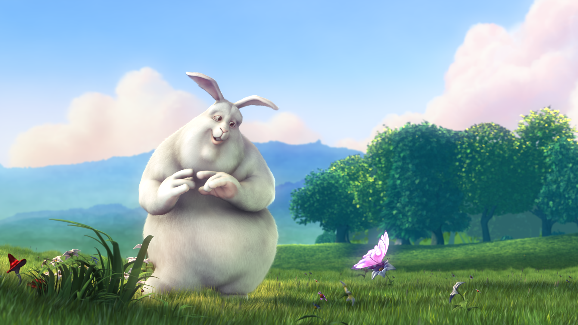 Big Buck Bunny Movie Frame