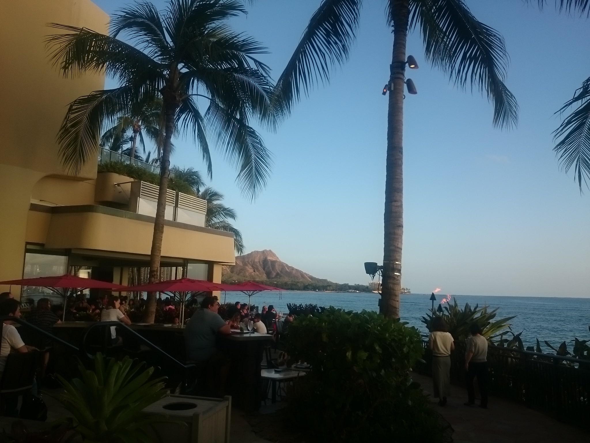 Hawaii 観光中