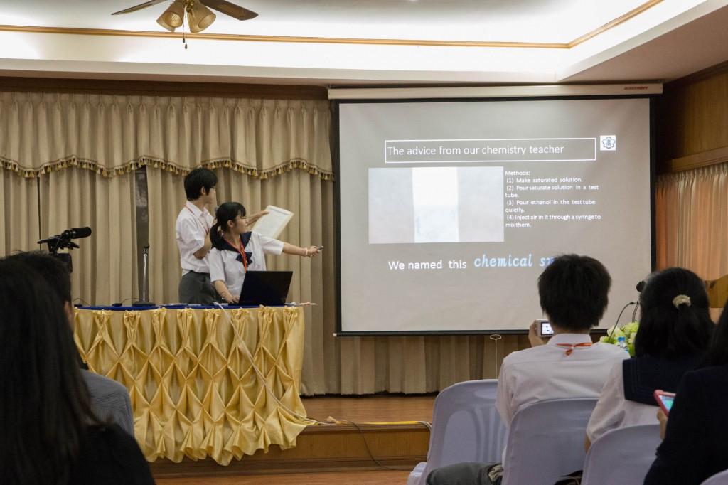 高校生による研究発表会