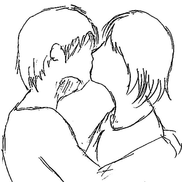 まず、キスする体勢がどのよう ...