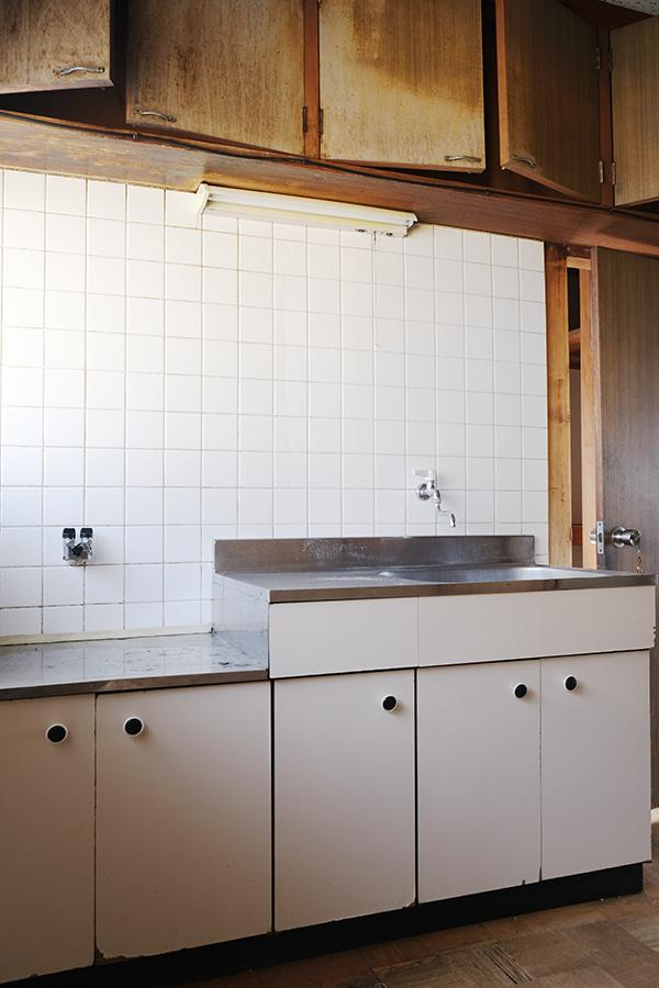 2階の住居用キッチン。