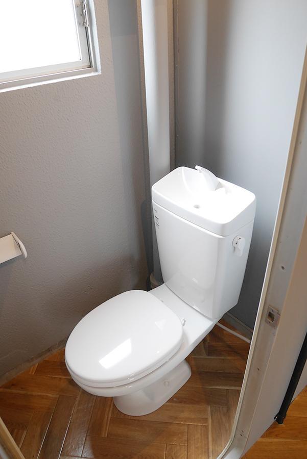 トイレは少し狭いものの、許容範囲かと。