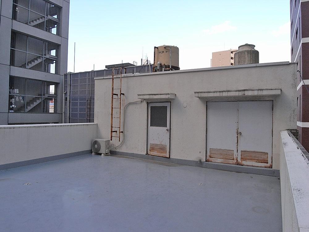 共用の屋上スペース