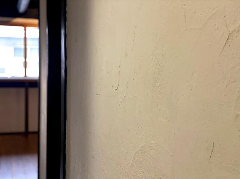 壁にはもちろん漆喰