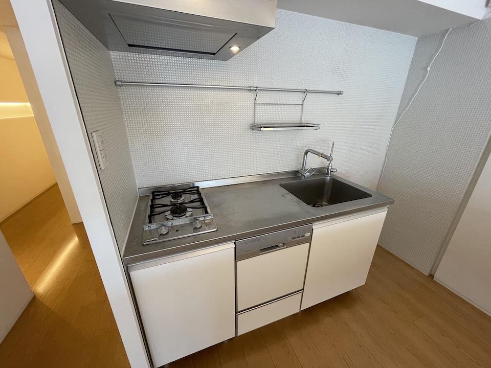 コンロは2口、食洗機あり