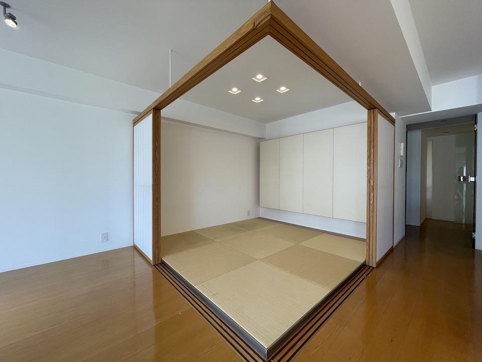 和室は琉球畳です