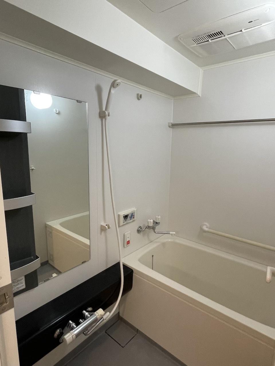 浴室も広いです。
