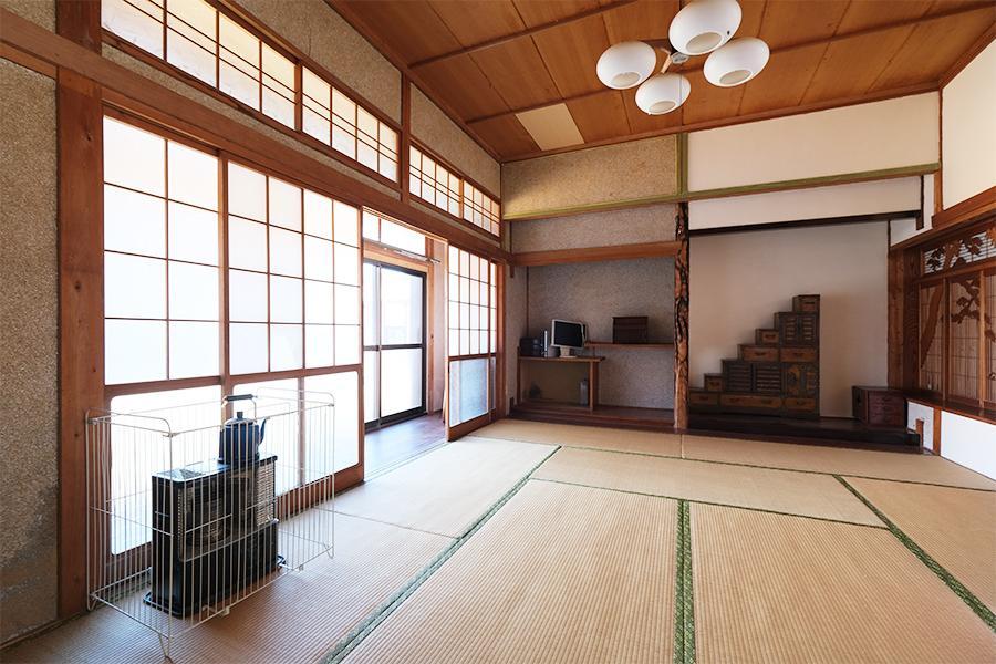 和室は広く。コンディションも良さげ。