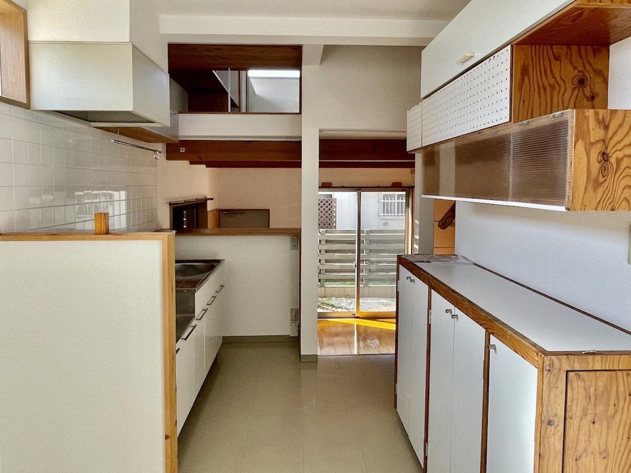 キッチンの収納もたくさん。