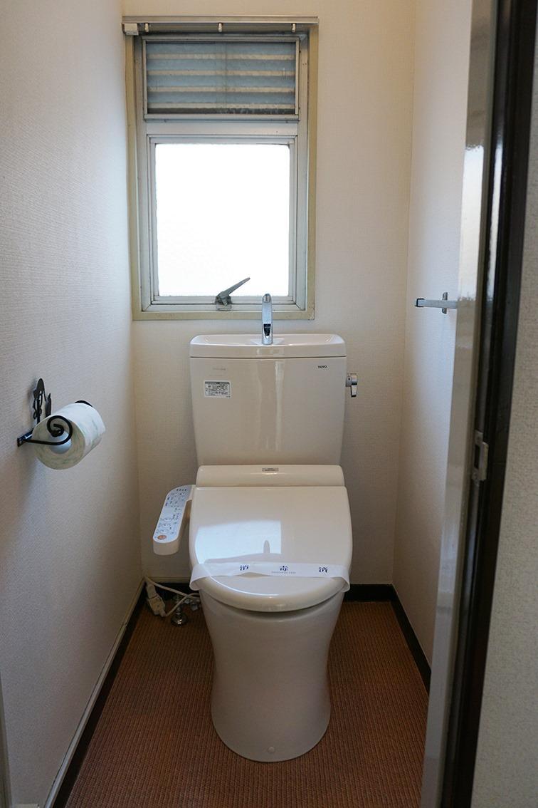 トイレも清潔感あり