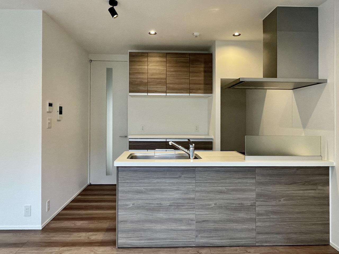 対面式キッチン。