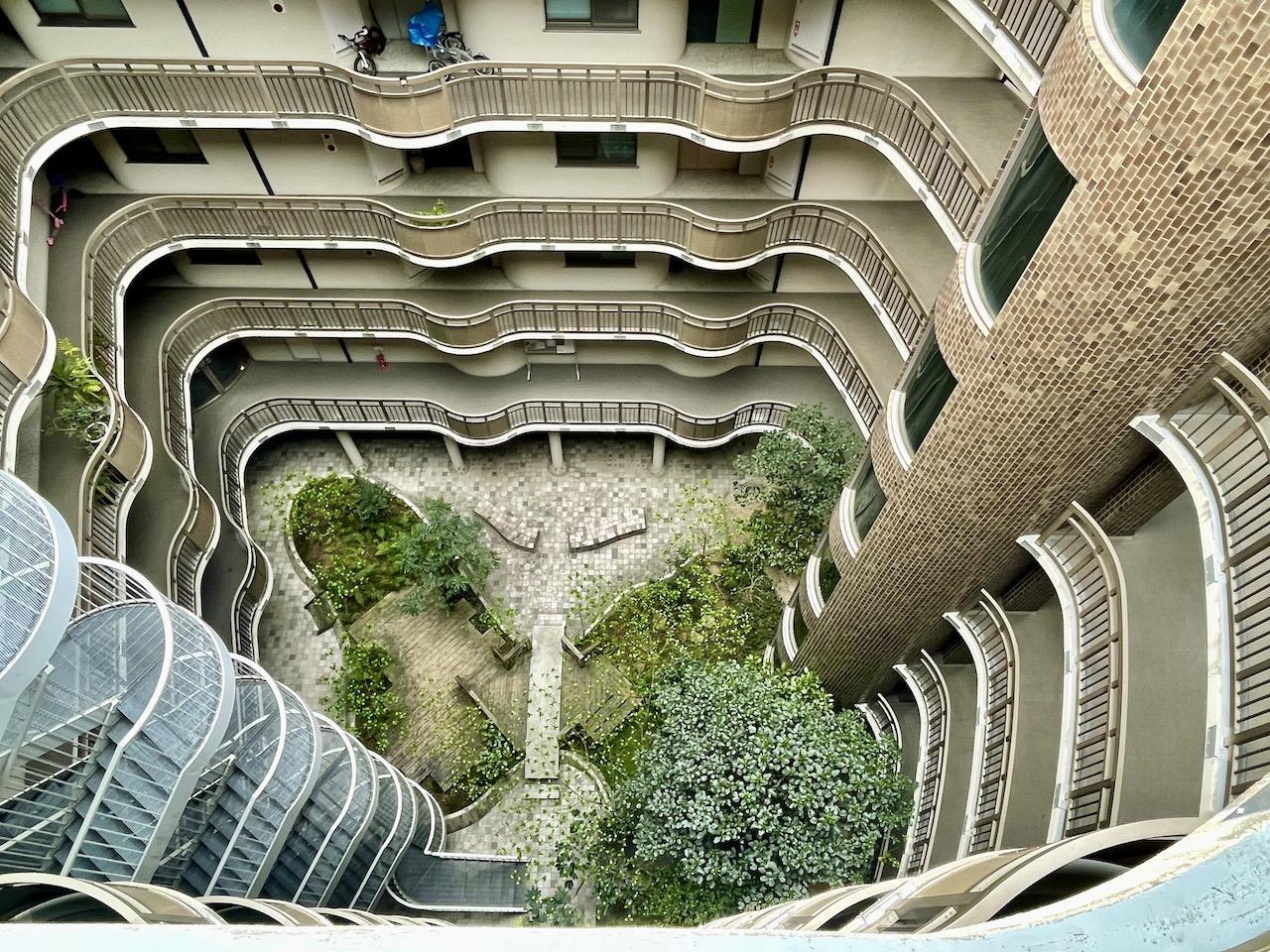 ガウディーの建築みたい。