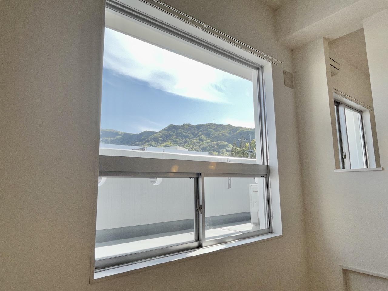 窓からマウンテン・ビュー