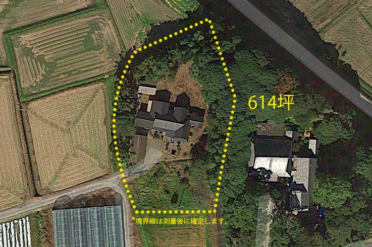 614坪の広大な敷地で糸島古民家暮らし、始めませんか。