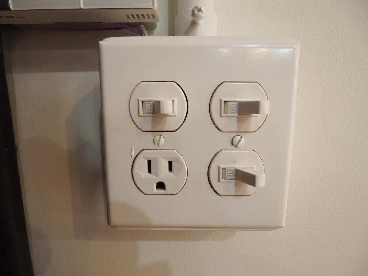 スイッチがなんかかわいい