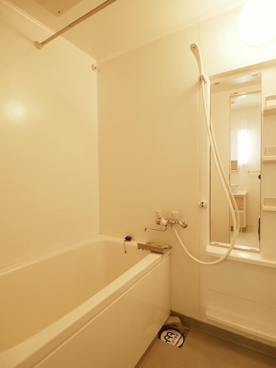 バスルームは広めです。