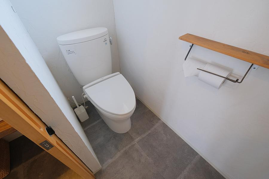 トイレも同様に更新済。