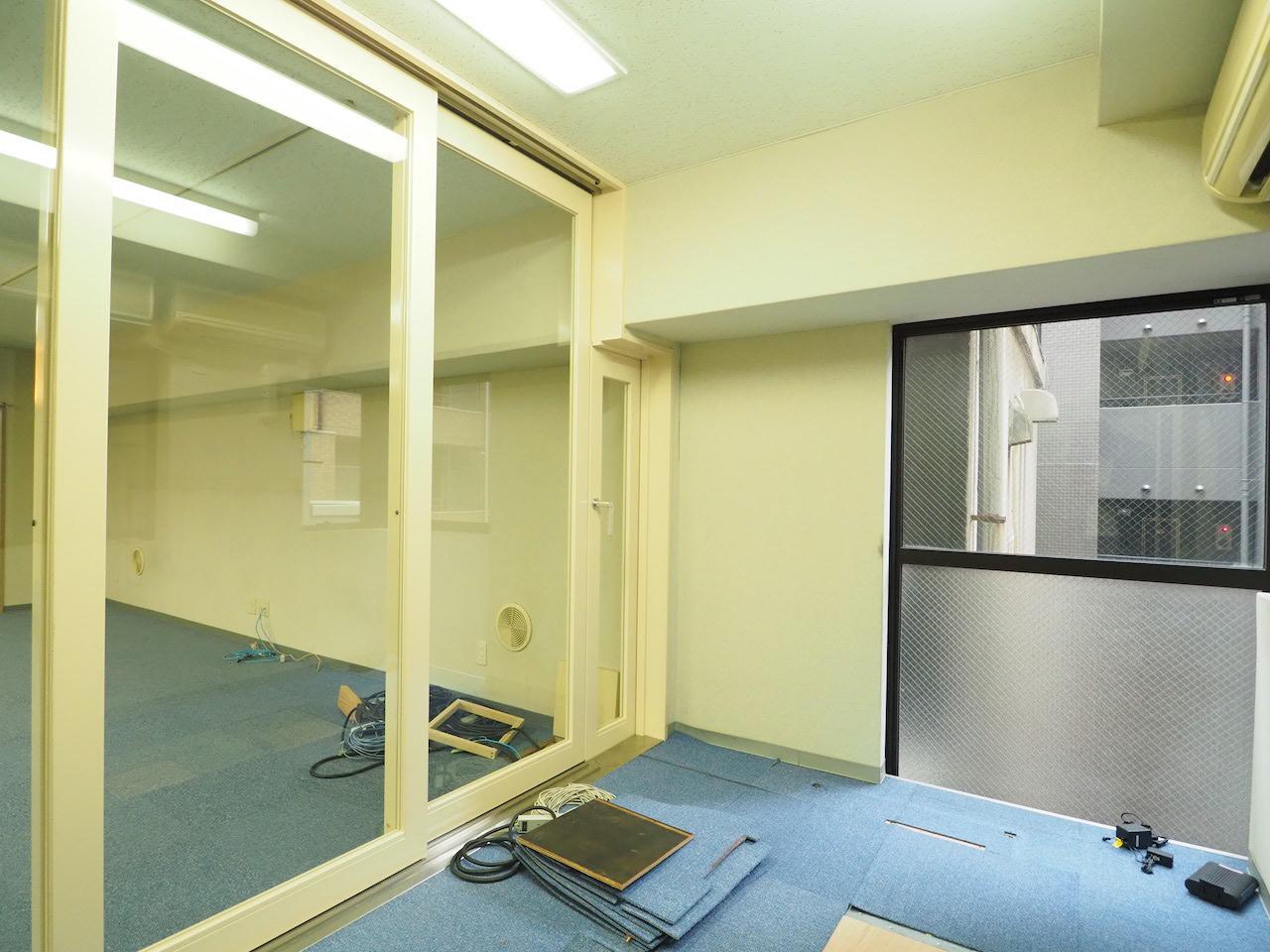 ここはマシンルームで。空調も完備されています。