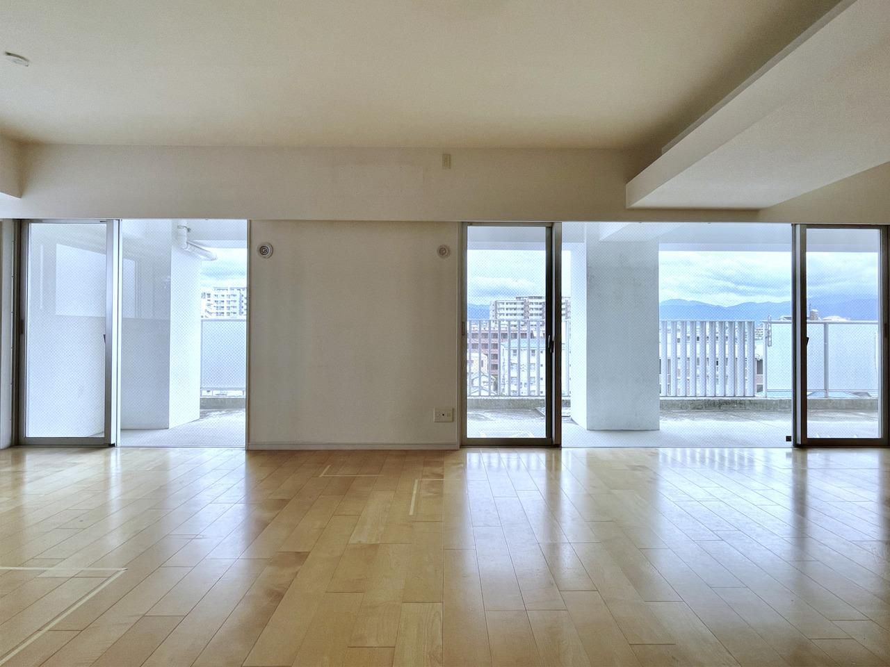こうやってみると本当にダンススタジオみたい。