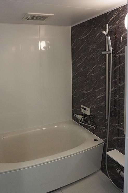 最新設備のお風呂。