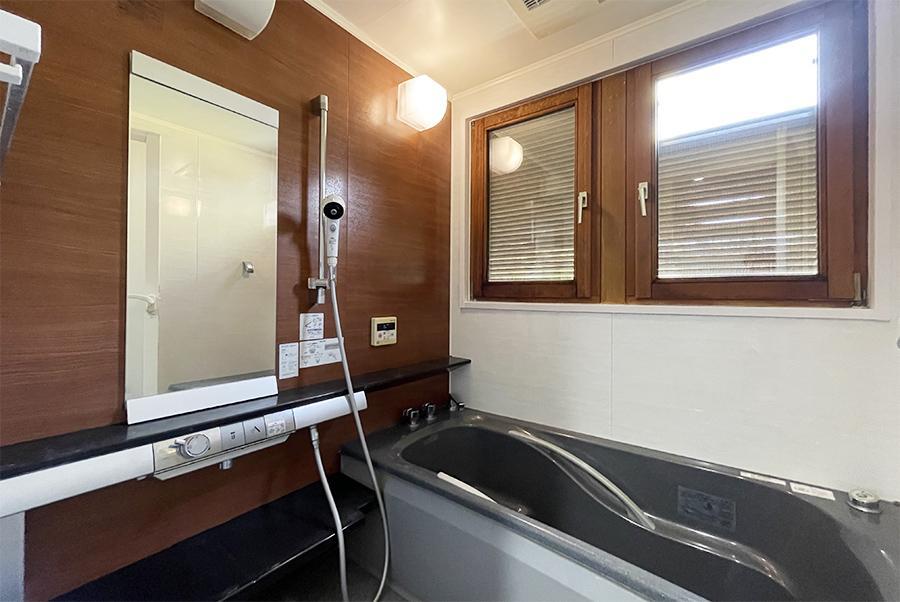 海外のホテルっぽいお風呂。