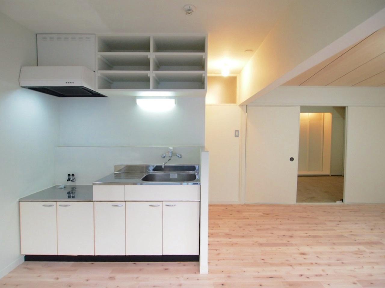 キッチンは広く快適に料理ができます。