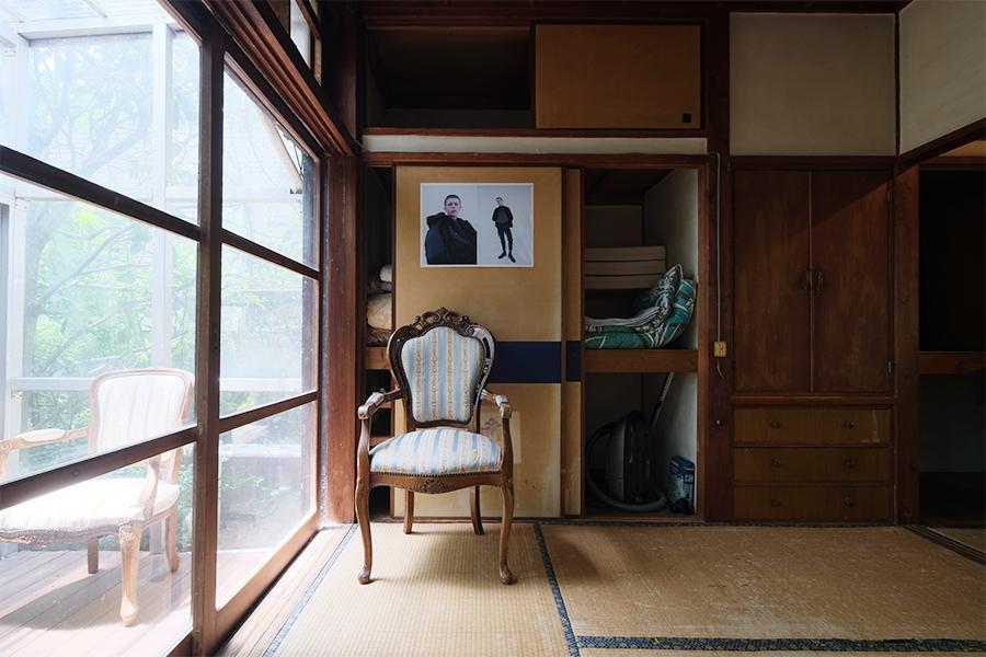 和室の一コマ。ここに座って一日ゆっくりしてみたい。