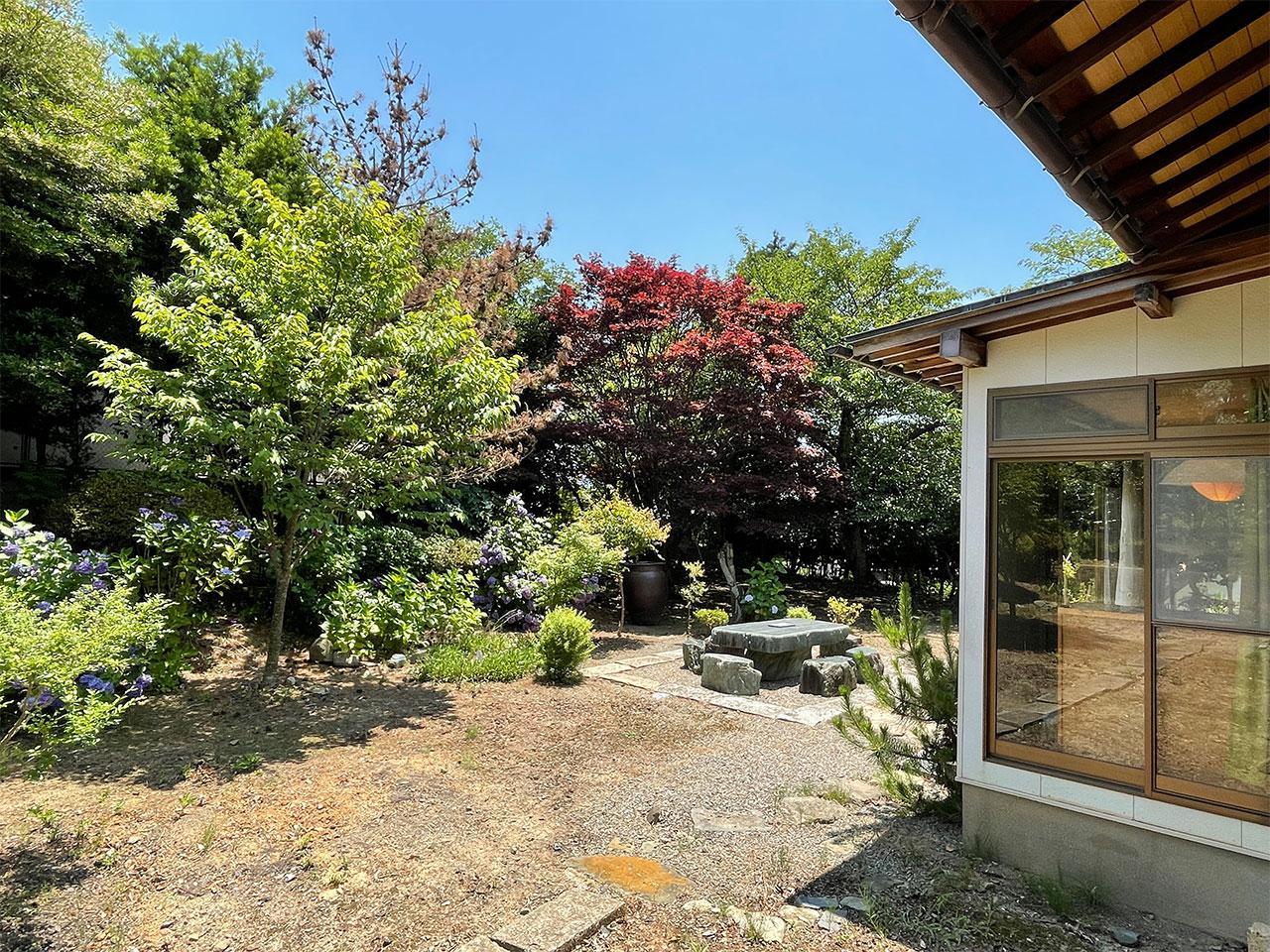 桜、金木犀、モクレンと約300本の樹木