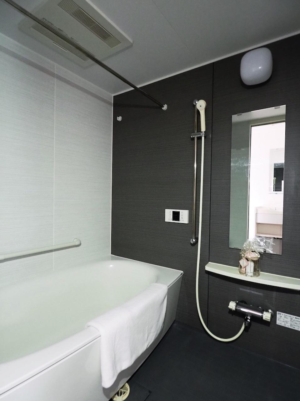 バスルームも広いですね。