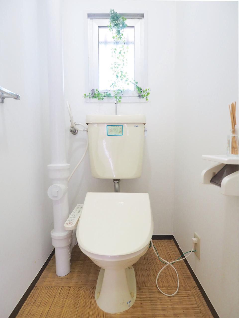 温水洗浄器付き便座