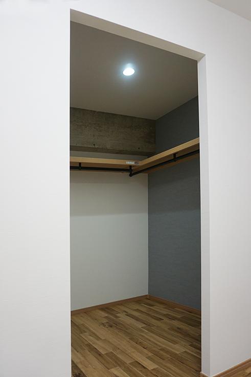 収納スペース。これだけのスペースがあったらお部屋はスッキリしそうですね。