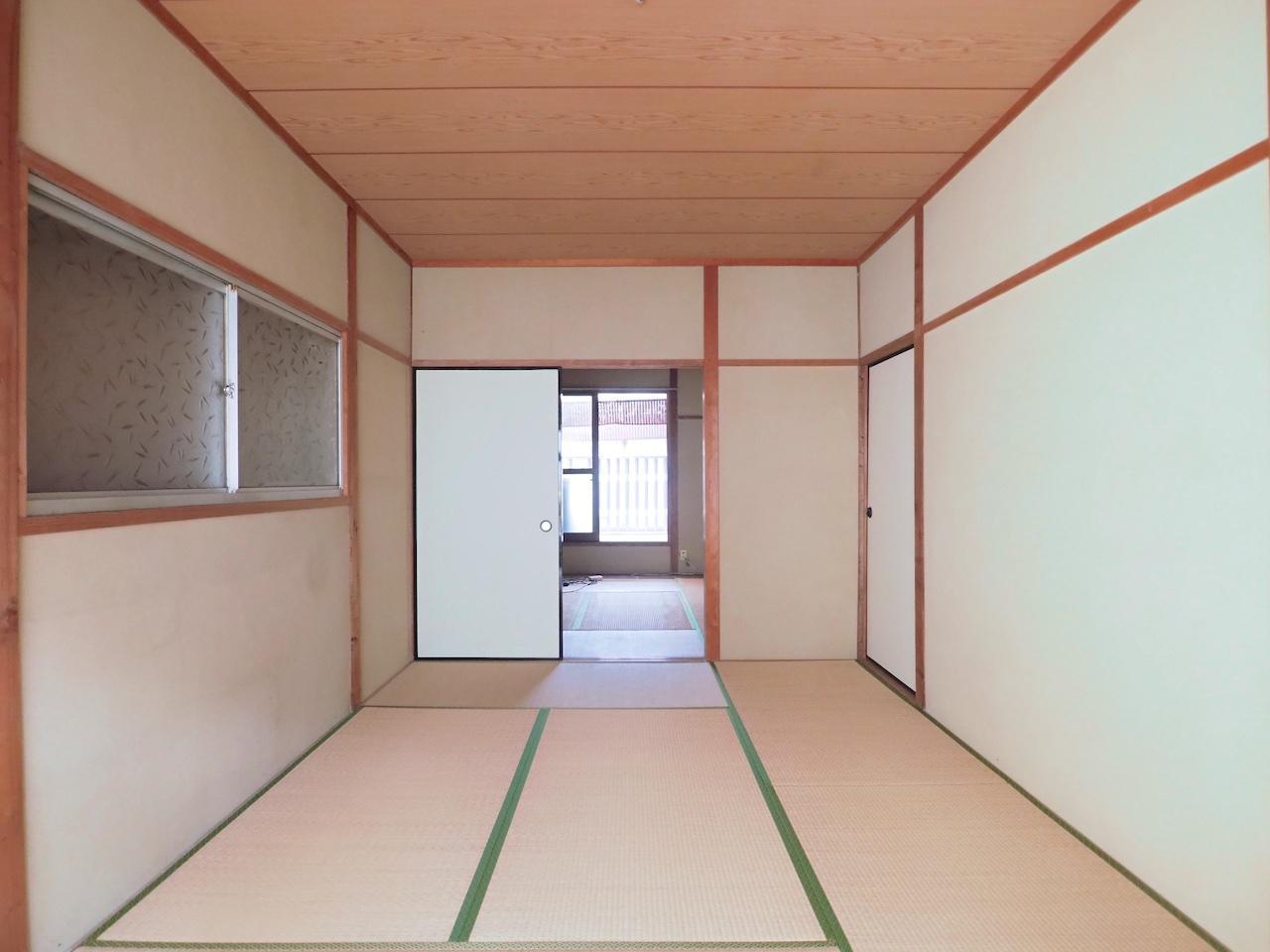 2階は和室に。