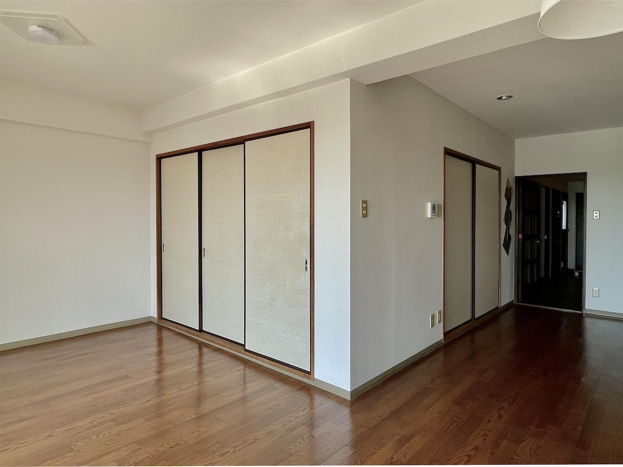 和室の扉を閉めるとこんな感じ。