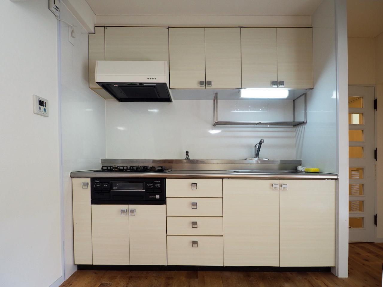 広さのあるキッチン。