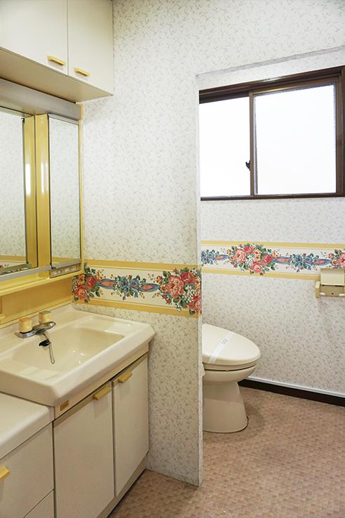 3Fのお手洗いとトイレ。