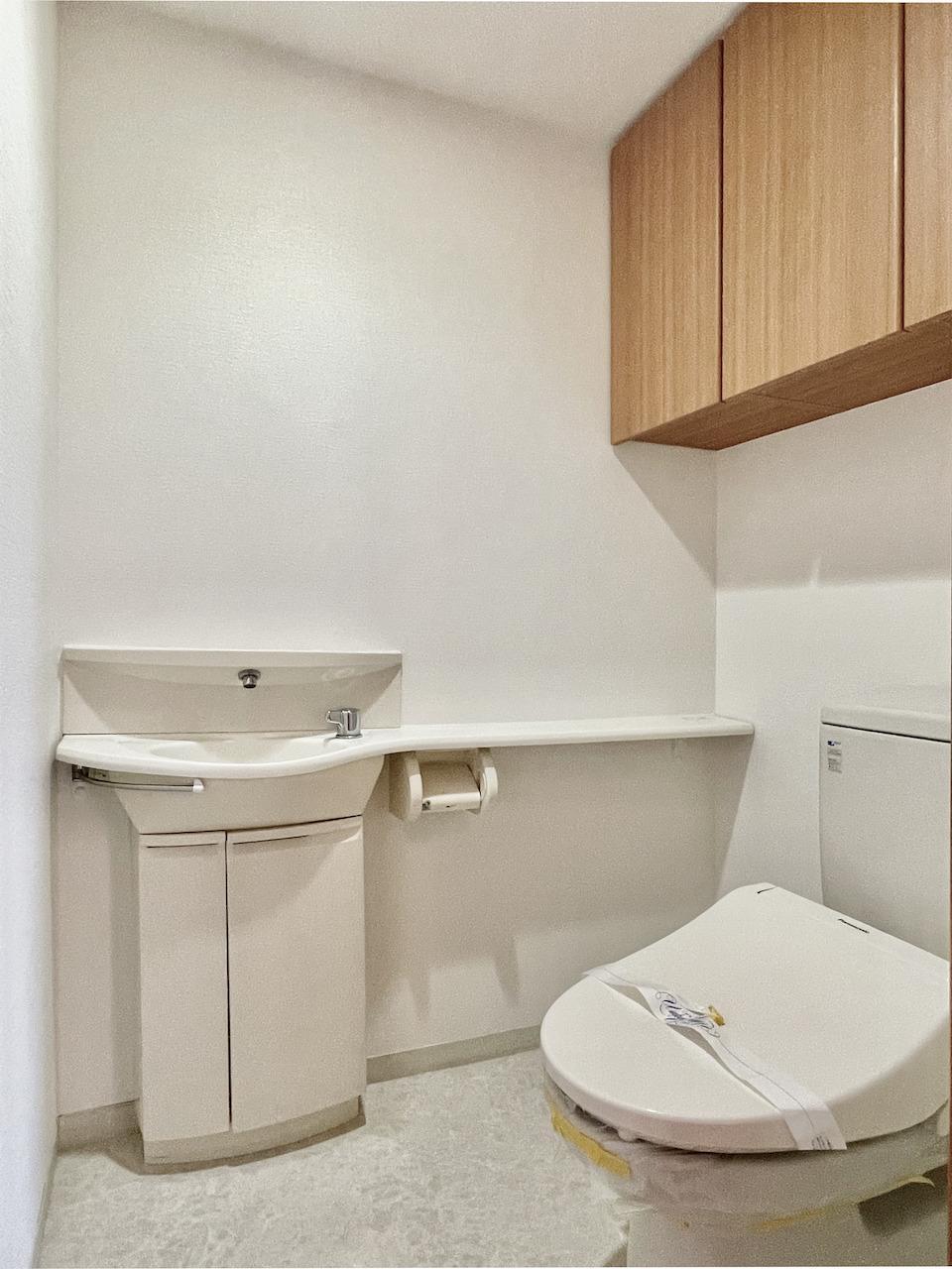 専用手洗い場付トイレ。