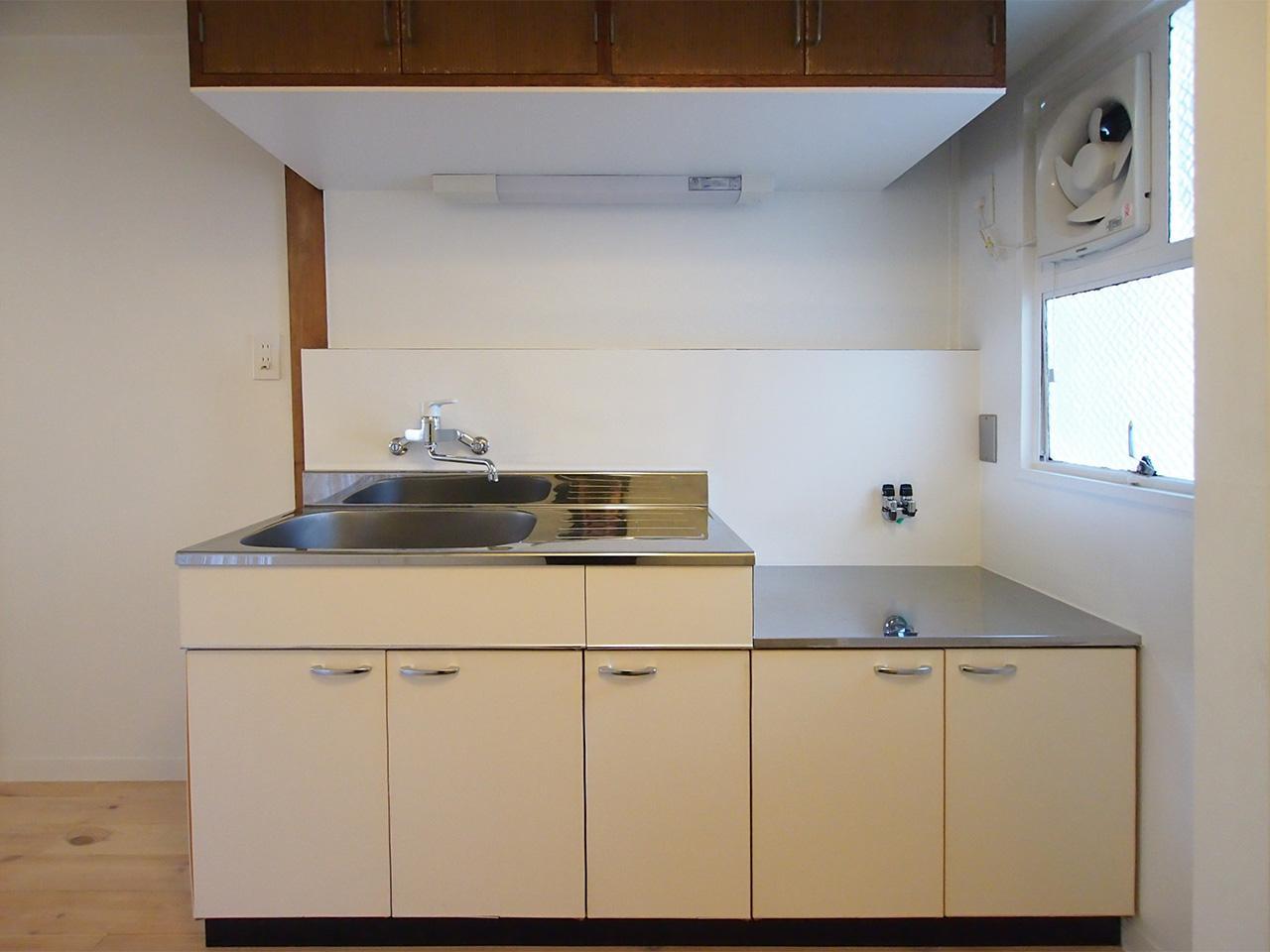 キッチンは広さがあります。