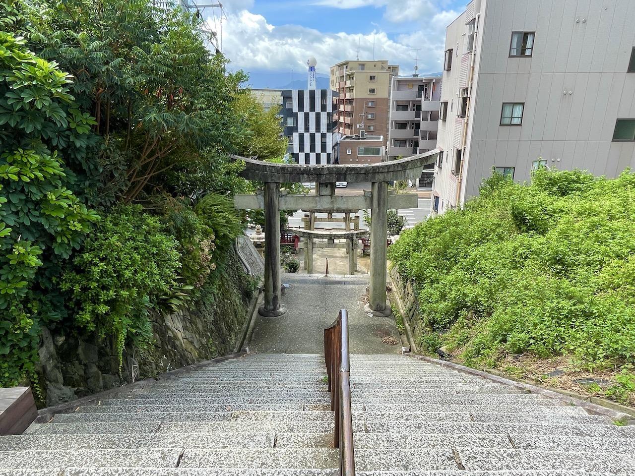この長さの階段になります。