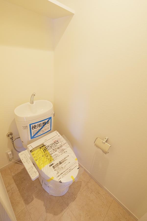 更新済みのトイレ。