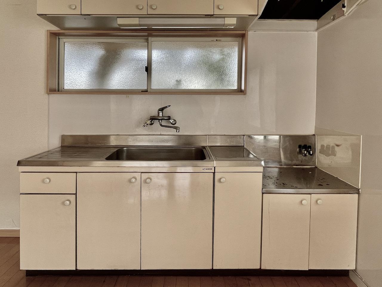 キッチン。コンロの準備は必要です。