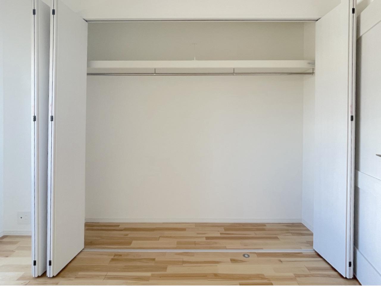 収納は個室にそれぞれあります。