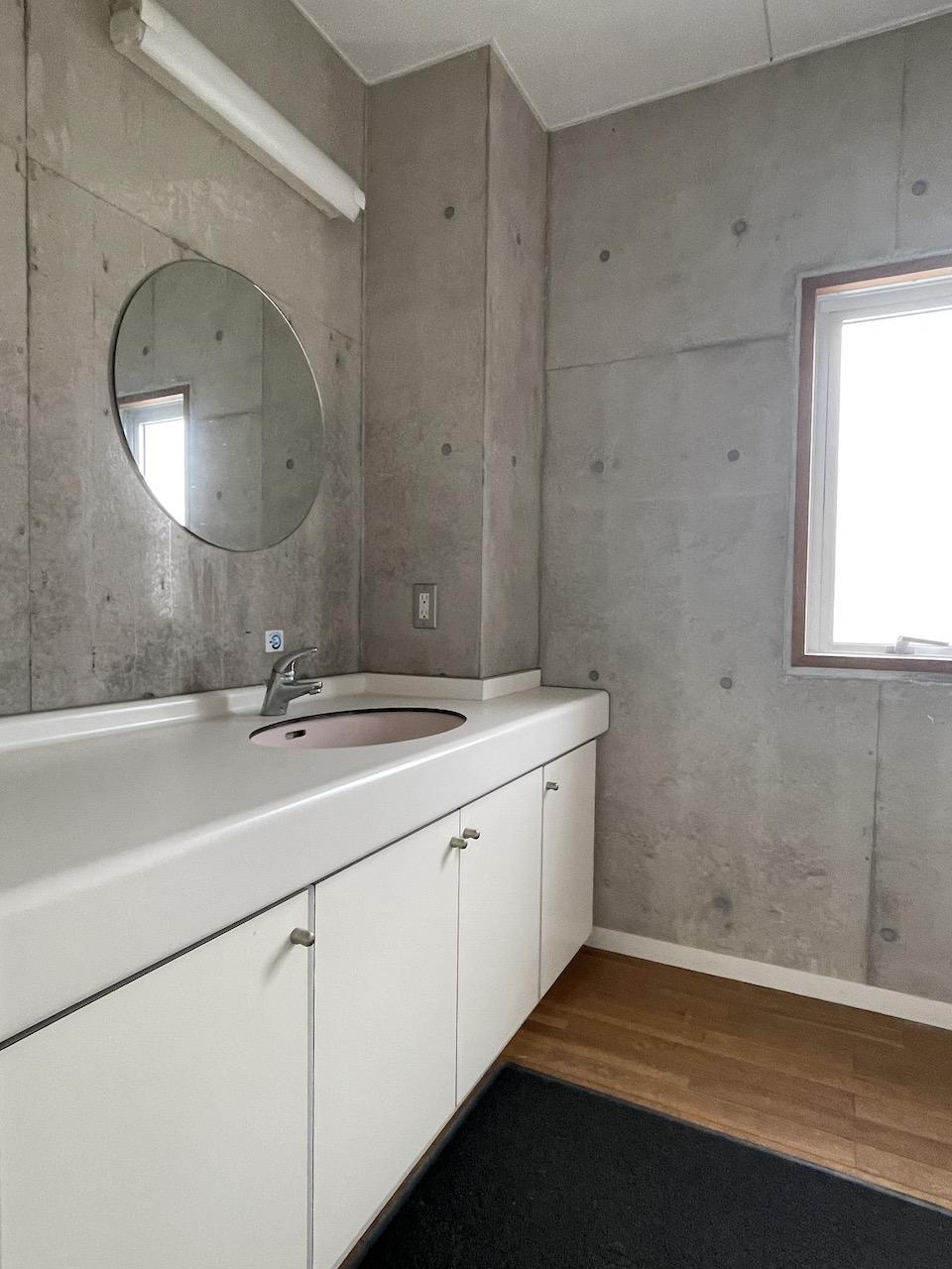 独立洗面台もあります。