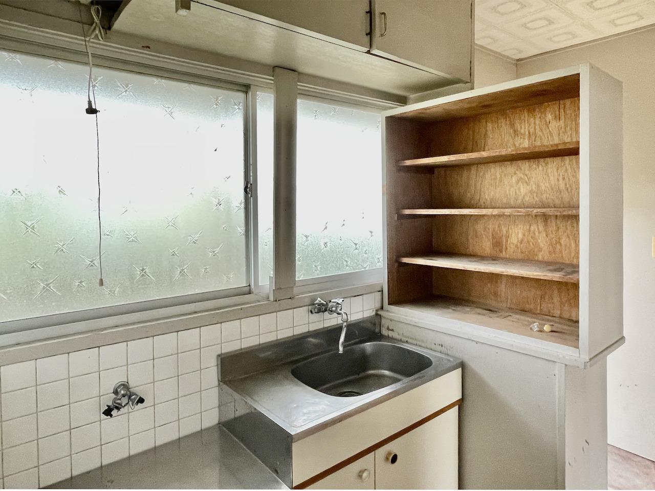 キッチン周り。