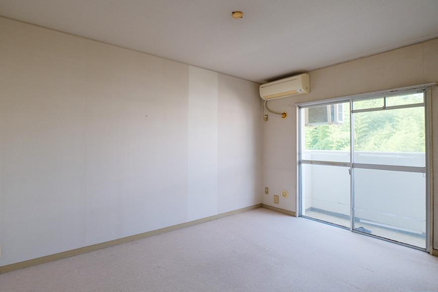 7帖の個室。こちらは北側になります。